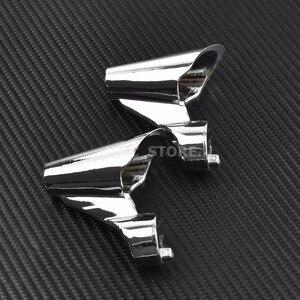 Image 2 - أطقم محوّل لمؤشر حركة أمامية للدراجات النارية لموديلات Harley Sportster XL1200X 2011 2012 13 14 15 من الألومنيوم الأسود والكروم