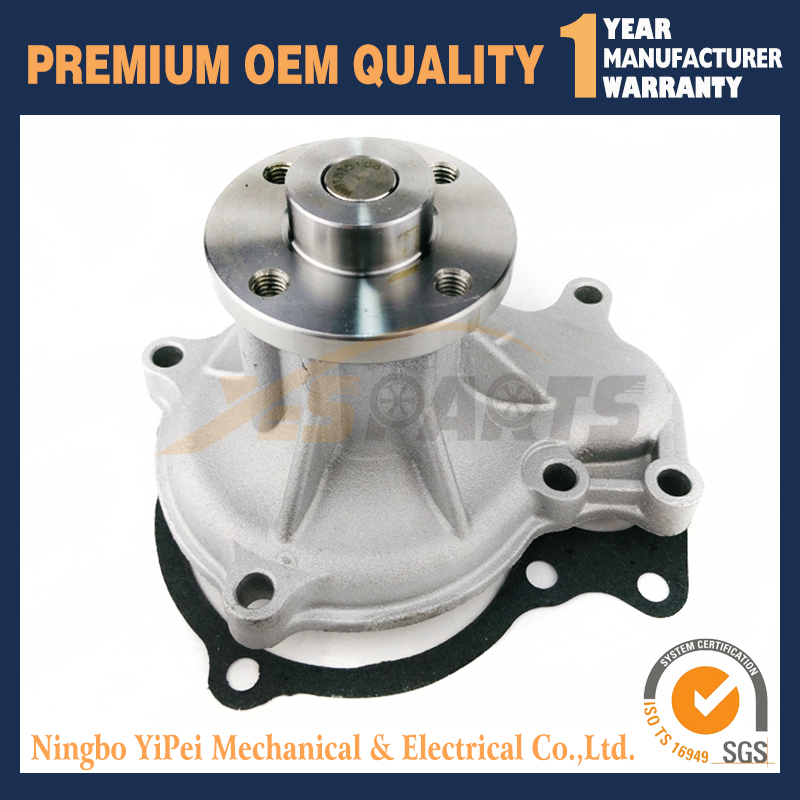 2pcs New Water Pump for Kubota V3300 V3300-E V3300-T V3300-DI 1C010-73032 kubota water pump with gasket reference 15321 73032