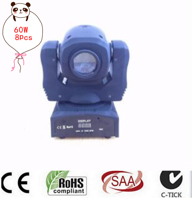 60W mini led spot moving head light 60W gobo moving heads lights super bright LED DJ Spot Light