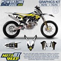 Customized Team Graphics Backgrounds Decals 3M Custom FX Stickers  For Husqvarna  2014 15 16 17 FE TE FC TC 250 350 450  500cc