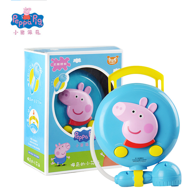 Peppa Pig George New Electric Bath Toys Sprinkler Shower Water Early Learning Educational Christmas Birthday Toys Gifts For Kids