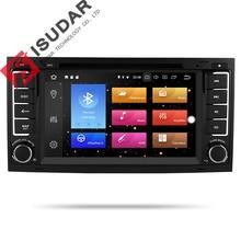 Isudar Auto Multimedia Player 2 din Auto Radio GPS Android 9 Sistema Stereo Per Volkswagen/Touareg Octa Core 4G di RAM 32G ROM DVD DVR