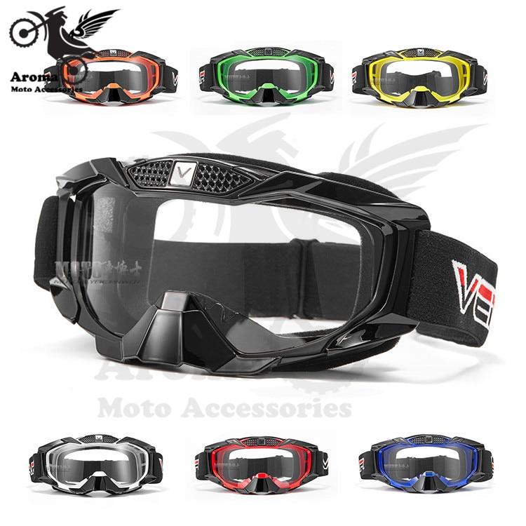 Klare linse ski brillen schutz outdoor sport racing motorrad goggle für KTM dirt pit bike goggles motocross zubehör