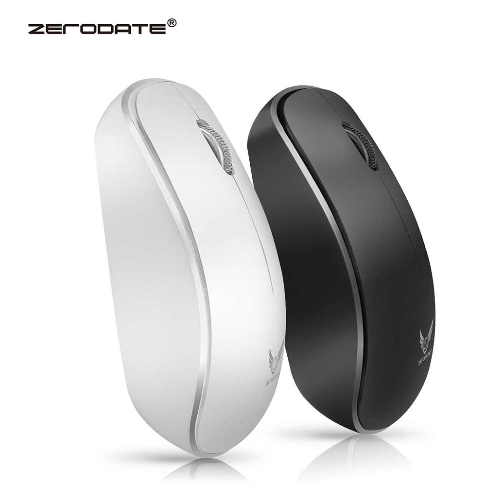 6ed2f211c37 ZERODATE T16 2.4G 1600 DPI Wireless Portable Mobile Mouse 3-Button USB  Optical Mouse