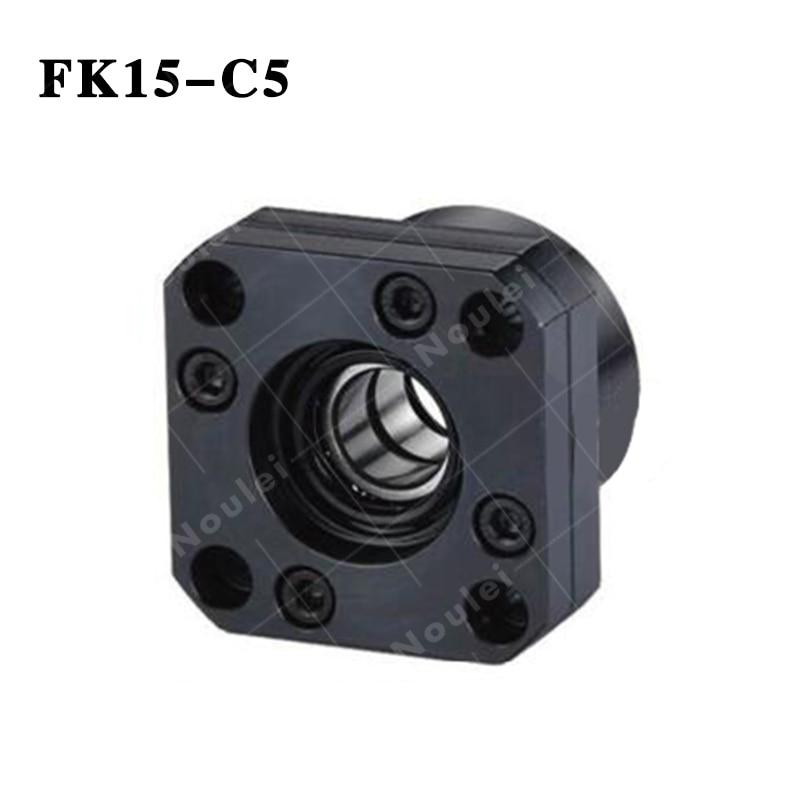 Ballscrew Support Unit  Fixed-side ( FK15 ) FK15-C5 Black ballscrew support unit fixed side fk15 fk15 c5 black