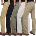 2016 Nueva Moda Para Hombre Pantalones Cargo Pantalones Hombres Casual Slim Fit Pantalones de Primavera Ropa Pantalones de Negocios de Gran Tamaño