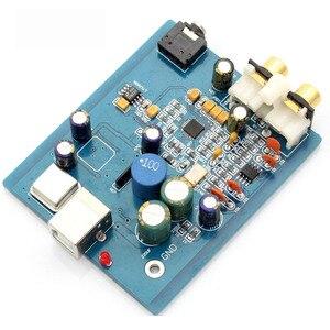Image 2 - HIFI ES9018K2M SA9023 USB DAC Decoder board Externe Karte Unterstützung 24Bit 92 k für audio Verstärker A10 018