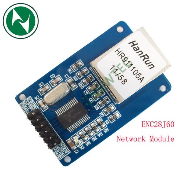 ENC28J60 Ethernet LAN Network Module Schematic For Arduino 51 AVR LPC