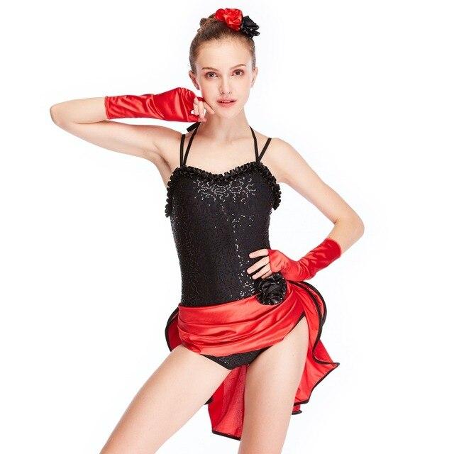2016db279 Sequins Lyrical Jazz Dance Dress For Ballroom Dancing Hip Hop ...