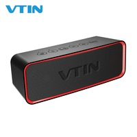 VTIN Wireless Bluetooth Speakers IPX6 Waterproof Outdoor Speakers Portable Speaker Stereo Sound Loud Speaker With Mic For iPhone