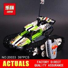 Nouveau Lepin 20033 397 pcs Technique Série télécommande caterpillar véhicules Blocs de Construction Briques Jouets Éducatifs avec 42065