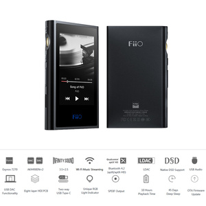 Image 2 - FiiO M9 HIFI AK4490EN * 2 Balanced WIFI USB DAC DSDเสียงความละเอียดสูงMP3บลูทูธLDAC APTX FLAC