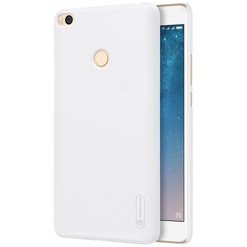 Nillkin Phone Cases for xiaomi max 2 Cover Case Plastic Hard Back Cover for xiaomi mi max 2 black android top case