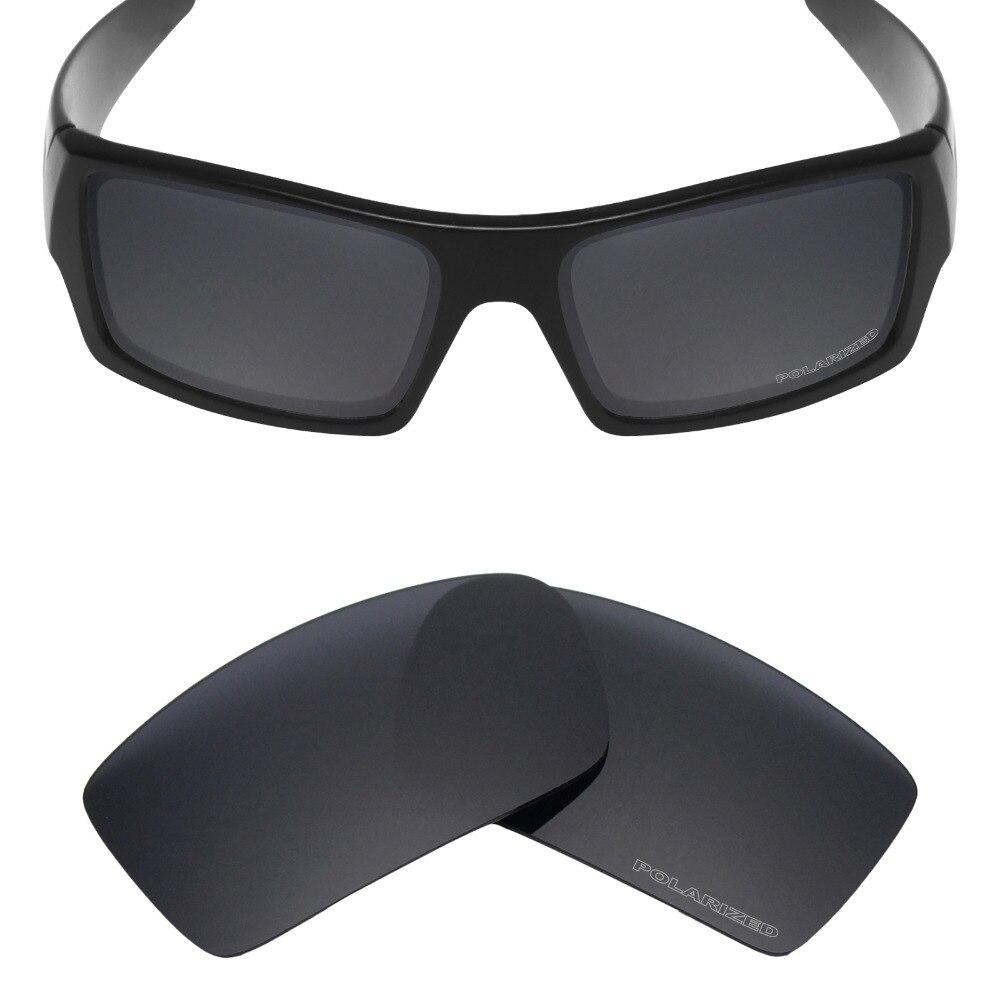 6dd84dbb5e Mryok + polarizadas resistir mar reemplazo Objetivos para Oakley GASCAN  Gafas de sol Stealth Black - a.folklove.me