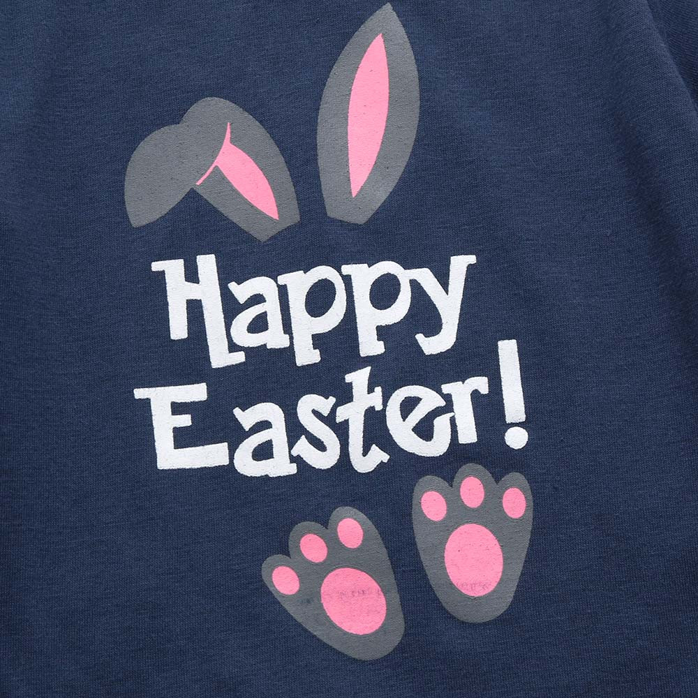 2018 new clothing Infant Baby Boys Girls Easter Letter Cartoon Rabbit Print Romper Jumpsuit Outfit baby girls clothing