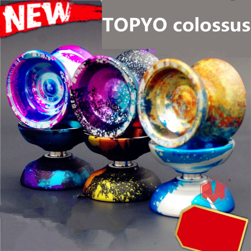 2017 New arrive TOPYO Colossus 3 YOYO professional yo - yo metal bearing yoyo Metal ball Competition Free shipping