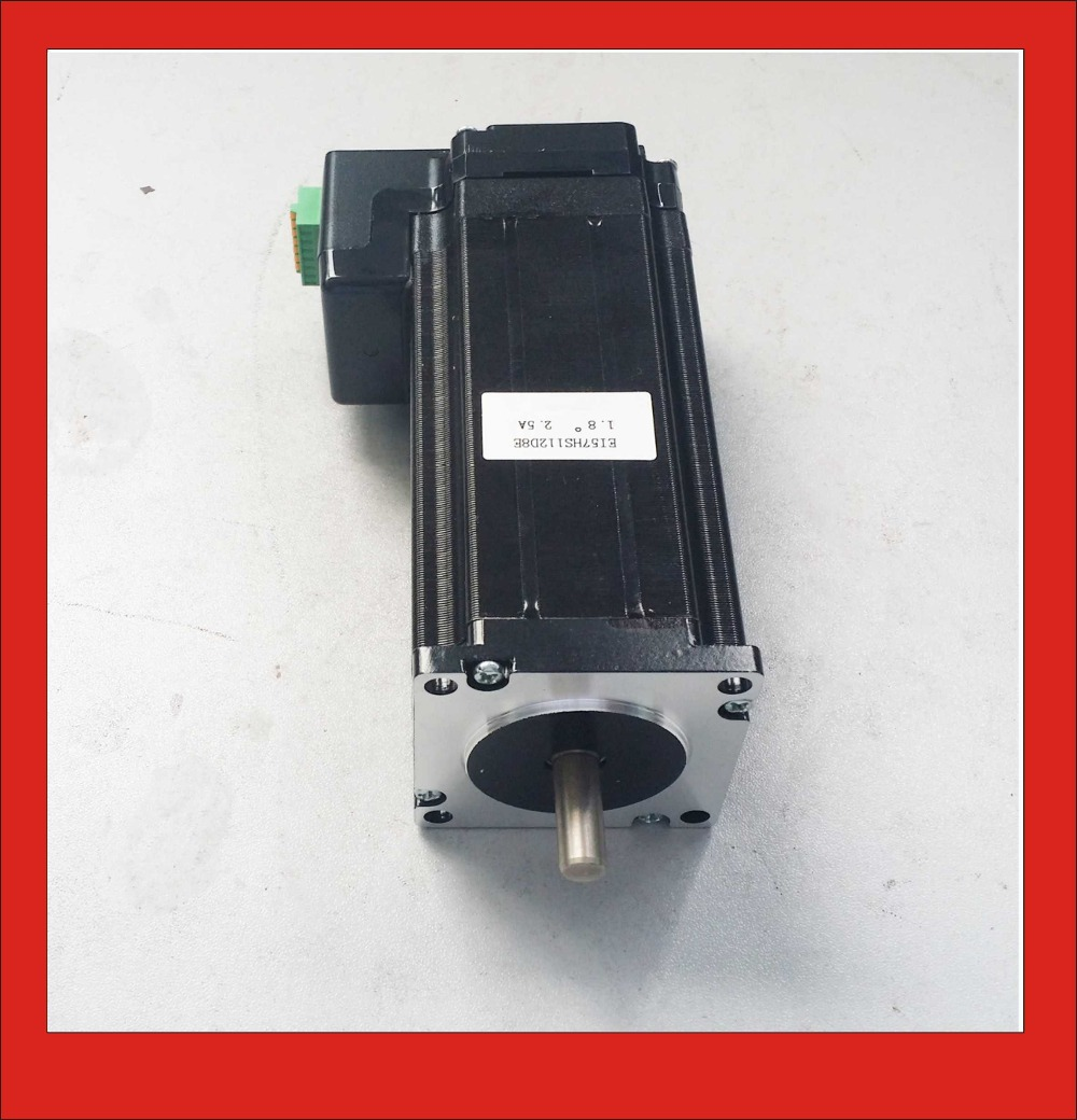 2 Phase Integrated Stepper Motor NEMA23 with Driver Box 24VDC 2.5A 2.4N.m Holding Torque PUL+DIR Control vvt lifan1 8 air intake timing sprocket vvt phase shifter chain wheel for lifan x60 720