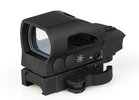 ppt tatico 1x32x34 red e green dot mira reflex scope quatro reticulas para caca os2