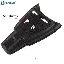 OkeyTech дистанционный ключ для автомобиля в виде ракушки 4 мягкие кнопки запасной чехол Крышка для SAAB 9-3 9-5 2003 2004 2005 2006 2007 2008 2009 2010