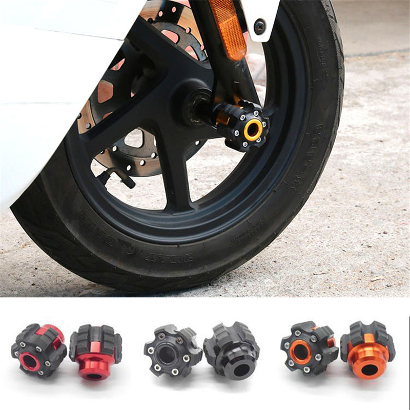 <font><b>moto</b></font> falling protection for KTM pit bike frame <font><b>sliders</b></font> racing motocross parts motorcycle crash pad motorbike <font><b>slider</b></font> <font><b>para</b></font> <font><b>moto</b></font> image