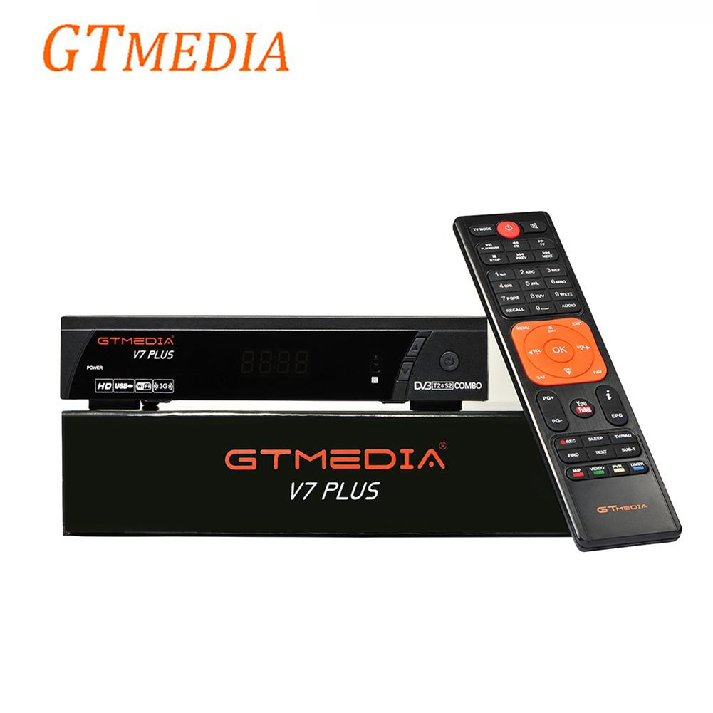 [Original]Satellite Set Top Box GTMEDIA V7 PLUS H265 DVB-S V7 PLUS Upgraded Version 1080P Full HD DVB-S2+T2 Satellite Receiver