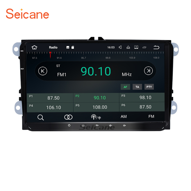 seicane 9 android 7 1 car stereo radio gps navigation for 2003 2010 rh aliexpress com