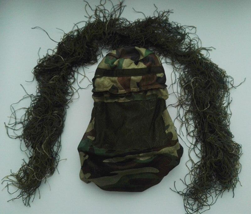 Sportbekleidung Military Erwachsene Woodland Camo/camouflage Jagd 3d Blatt Ghillie Anzüge Heißer Verkauf Neueste Technik Sets/garnituren