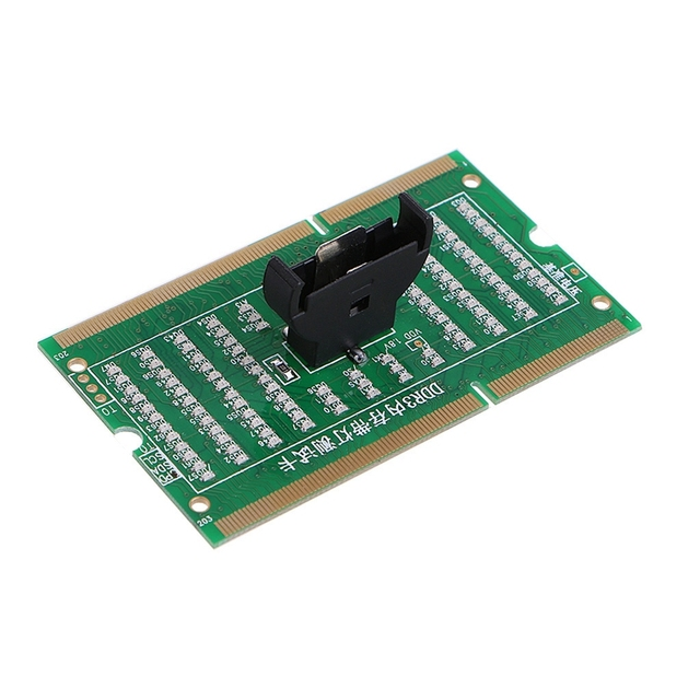 2020 New DDR3 Memory Slot Tester Card with LED Light for Laptop Motherboard Notebook 3