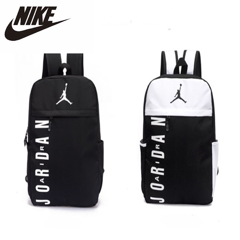 Nike Air Jordan Men And Women Training Backpack Large Capacity Sports Gym Bag