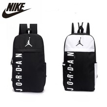 купить Nike Air Jordan Men And Women Training Backpack Large Capacity Sports Gym Bag по цене 1875.78 рублей