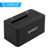 ORICO HDD Case SATA to USB 3.0 Hard Drive Docking Station 5Gbps Super Speed for 2.5''/ 3.5 SSD HDD With 12V Power Adapter