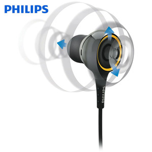 Image 3 - Original Philips SHE6000 Earphone Sport Headset In Ear Running Earpads for xiaomi Galaxy S9 S9Plus Official Certification
