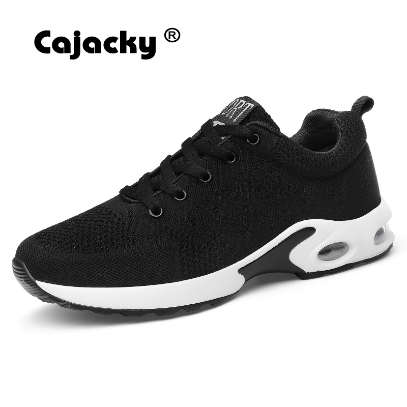 Cajacky Unisex Sneakers Shoes Men Casual Shoes Male Krasovki Fly Weave Sneakers Trainers Zapatillas Hombre Couple Big Size 35-45