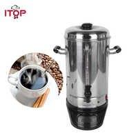 ITOP 6L In Acciaio Inox Caffè Filtro Macchina Per il Caffè Espresso Commerciale Processori EU/US Plug