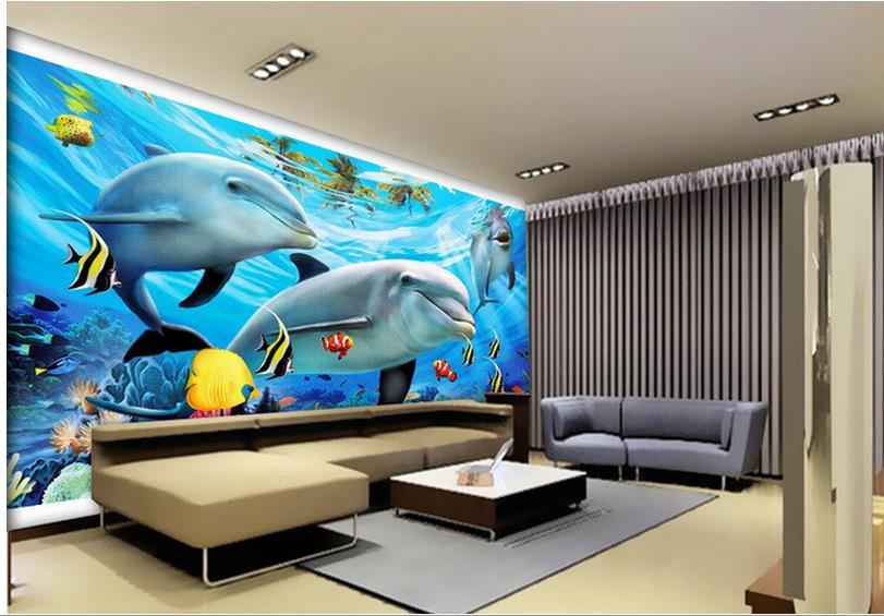 Foto personalizzata carta da parati grande 3d divano tv for Immagini carta da parati 3d