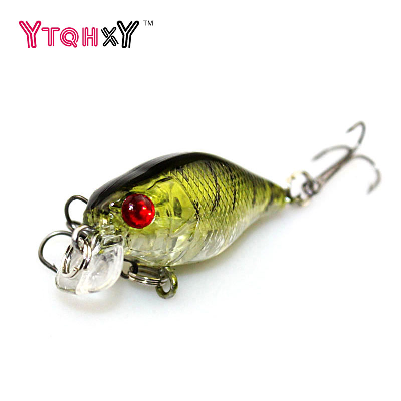 1PCS Mini fishing Lure Crank Iscas Artificiais 4cm 4.2g Pesca Floating Wobbler Hard Bait Crankbaits Carp Fishing 3D Eyes WQ240 sealurer fishing lure minnow hard bait pesca floating wobbler 8cm 7 5g isca carp crankbait jerkbait 5colors 1pcs lot