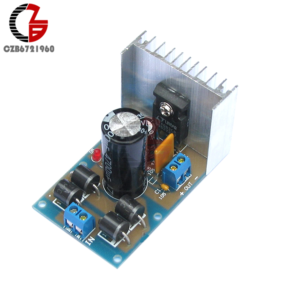 LT1083 Adjustable Regulated Power Supply Module Parts and Components DIY Kit electronic цена