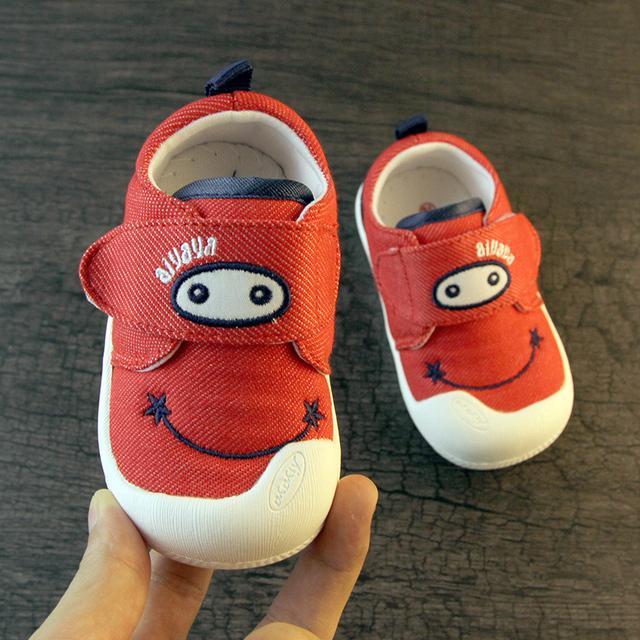 Sapatas Do Esporte Da Lona do bebê Sapatilhas Primeiros Walkers Scarpette Neonata Sapatinhos de Bebê Infantil Sapatos Da Criança Calçado Itens 503118