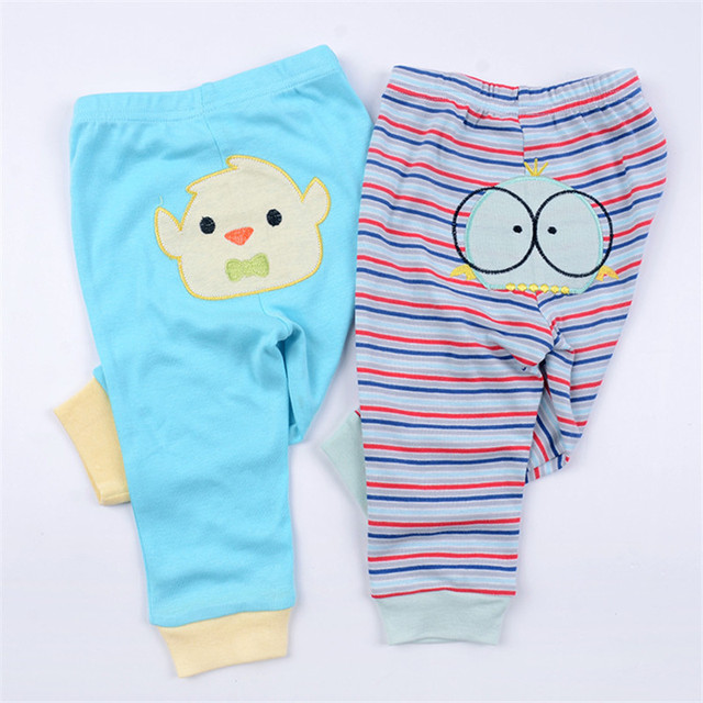 df9afc6a358d 5pcs lot Unisex Baby Pants Spring Autumn Cartoon Cotton Newborn ...