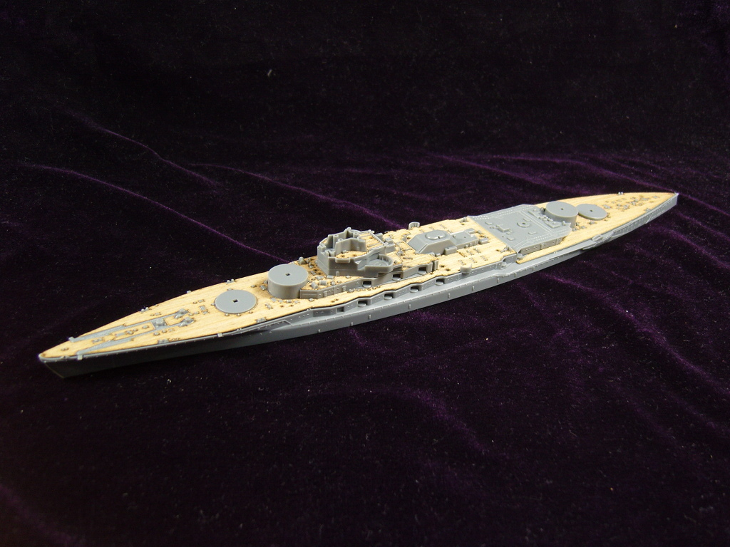 /FUJIMI ARTWOX 421513 Japanese old Navy battleship Nagato wood deck AW20054