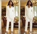 2016 на заказ шифон мать невесты куртка брюки костюмы с длинным рукавом свадебное ну вечеринку костюм для матери платье высокое качество