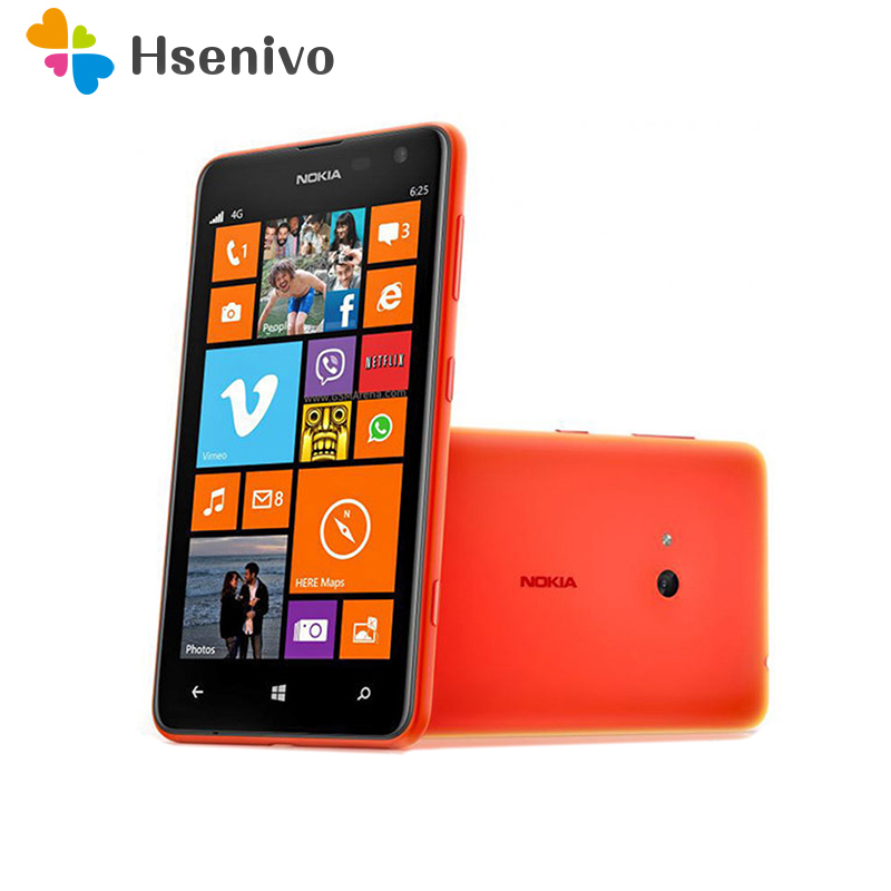 625 Original Unlocked Nokia Lumia 625 cell phone 4.7Touchscreen Dual core GPS WIFI 3G&4G Microsoft Windows Phone Free shipping image