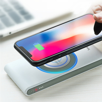 HOCO 8000mah Universal Wireless Quick Mobile Phone Charger QI Standard External Battery Fast Power Bank Supply