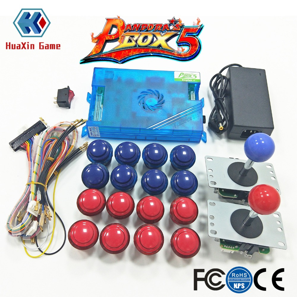 2 Player Arcade Mame Joystick And Original Pandora Box 5 Home Edition 960 in 1 Motherboard Game DIY Kit  for Arcade Machine 2 Player Arcade Mame Joystick And Original Pandora Box 5 Home Edition 960 in 1 Motherboard Game DIY Kit  for Arcade Machine