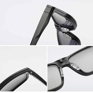 Image 5 - מחזה מסגרת גברים נשים עם 4 חתיכה קליפ על משקפי שמש מקוטבות מגנטי משקפיים זכר קוצר ראייה מחשב אופטי