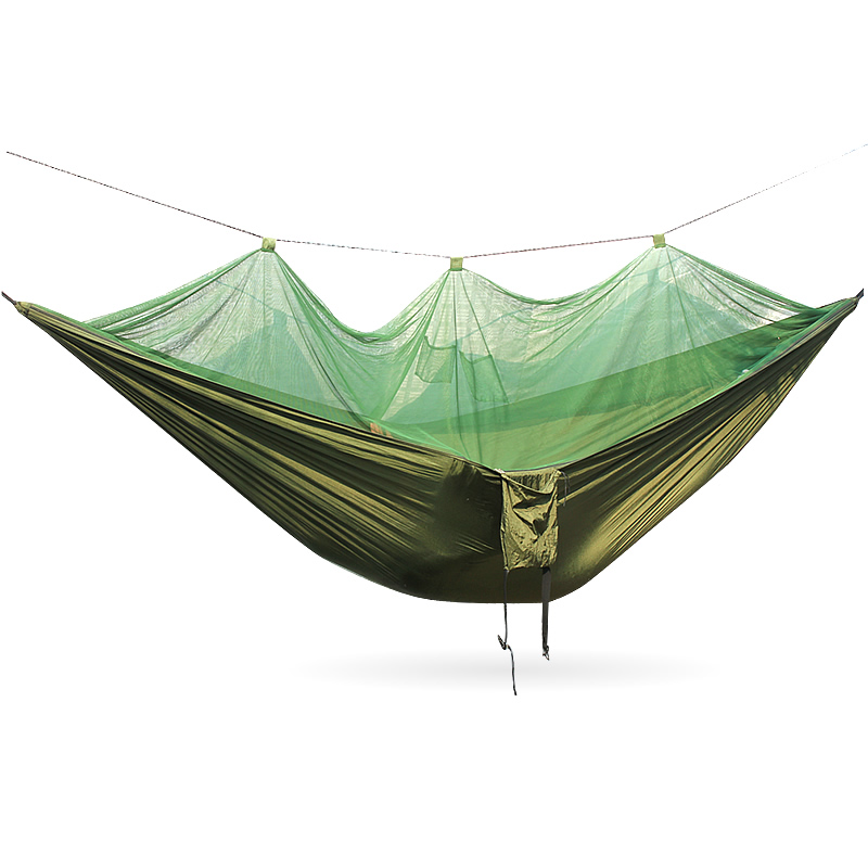Lightweight portable hammock mosquito net parachute hammock parachute hammock parachute hammock double muebles exterior