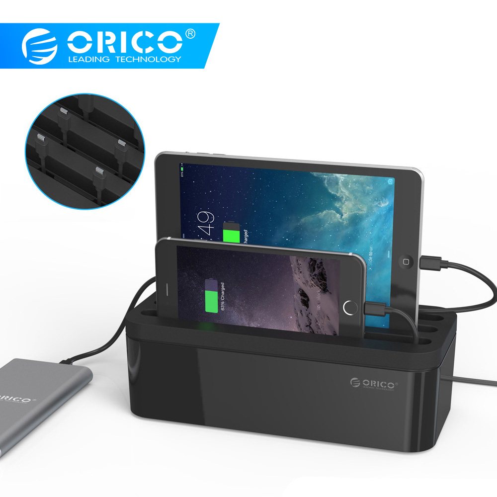ORICO PB1028 USB Charger Protector Box Cable Management