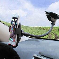Przednia szyba samochodu uchwyt 360 obrotowy telefon komórkowy stojak do Samsung S7 S8 S9 dla Iphone X 7 8 Plus HTC uniwersalny wspornik podtrzymujący
