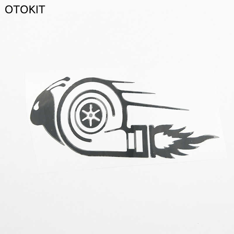 Otokit Stylish Car Stickers Dub Drift Race Car Styling