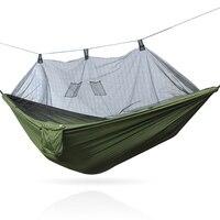 Double mosquito nets hammock camping garden swing outdoor furniture portable Hammock Beach hammock tent hammock